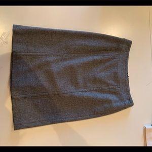Wool banana republic pencil skirt